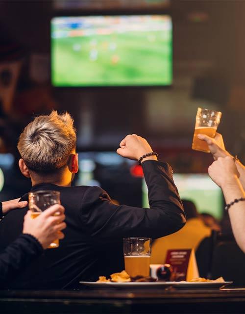 Pantalla bar